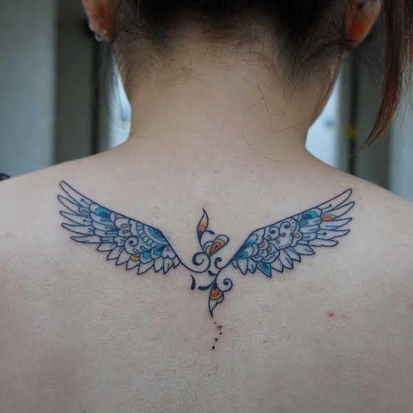 Ali Significato Idee E Foto Tattoos Watercolor Tattoo Watercolor