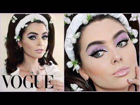 LILY COLLINS Met Gala 2019 Makeup + Hair Tutorial – YouTube – #COLLINS #Gala #Ha…