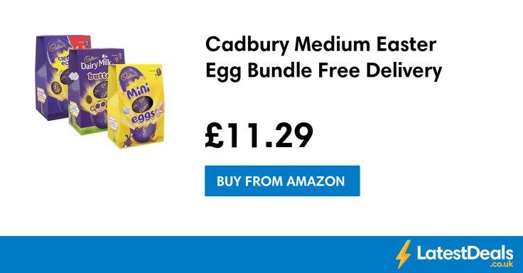 Cadbury Medium Easter Egg Bundle Free Delivery, £11.29 at Amazon
