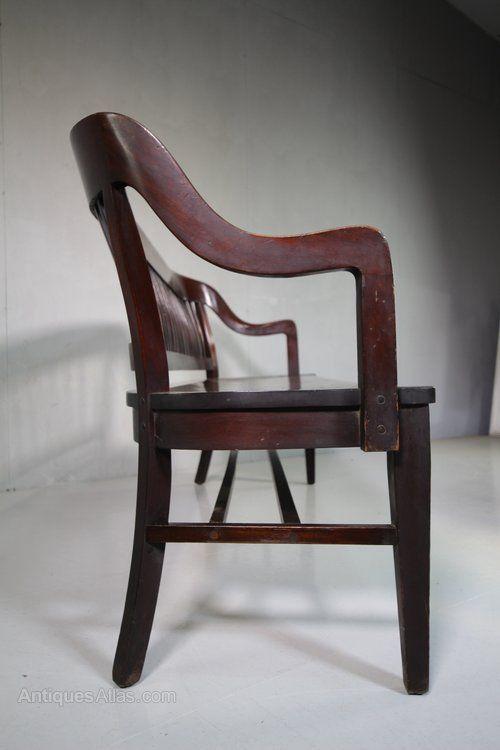 Swell Edwardian Antique Mahogany Hall Bench Seat Antiques Atlas Spiritservingveterans Wood Chair Design Ideas Spiritservingveteransorg
