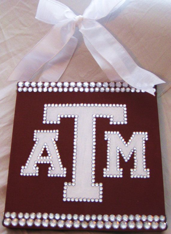 Super cute! I'd put OU on it--nothing against the Aggies--I love them, too!