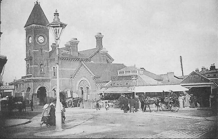 Forest Hill Station S E London c:1900