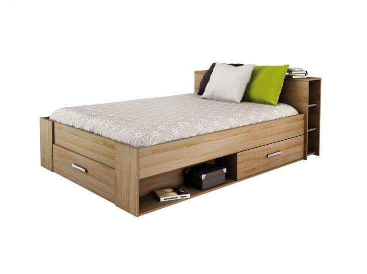 POCKET Säng 140 Ek i gruppen Inomhus / Barnmöbler / Barnsängar hos Furniturebox (100-56-79250)