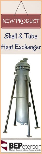 Our newly launched product, Shell & Tube Heat Exchanger.