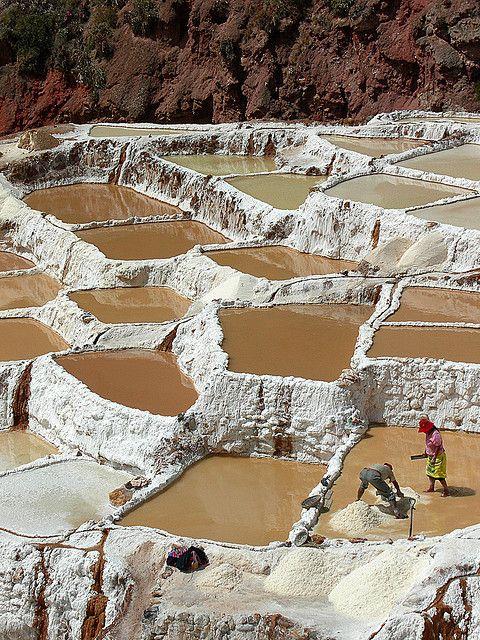 Salinas (Salt Pans), Sacred Valley, Peru  visit the Sacred Valley RESPONSibly with RESPONSible Travel Peru