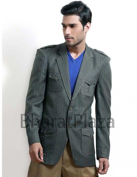 Debonair Look Hunting Coat Item code : SJB5005  http://www.bharatplaza.com/debonair-look-hunting-coat.html