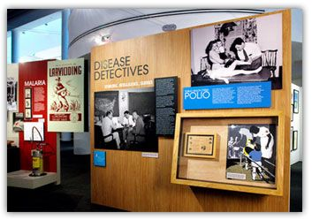 The David J. Sencer CDC Museum, a Smithsonian Affiliate, uses award-winning exhibits and innovative programing to educate visitors about the value of public health, and presents the rich heritage and vast accomplishments of CDC.