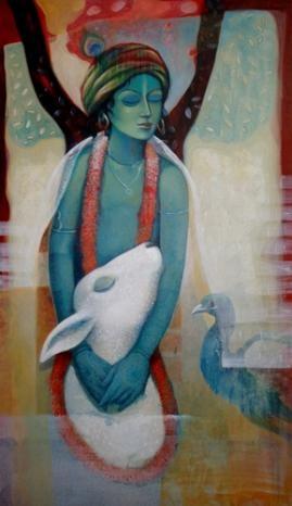 my Krishna is blue Ashis Mondal