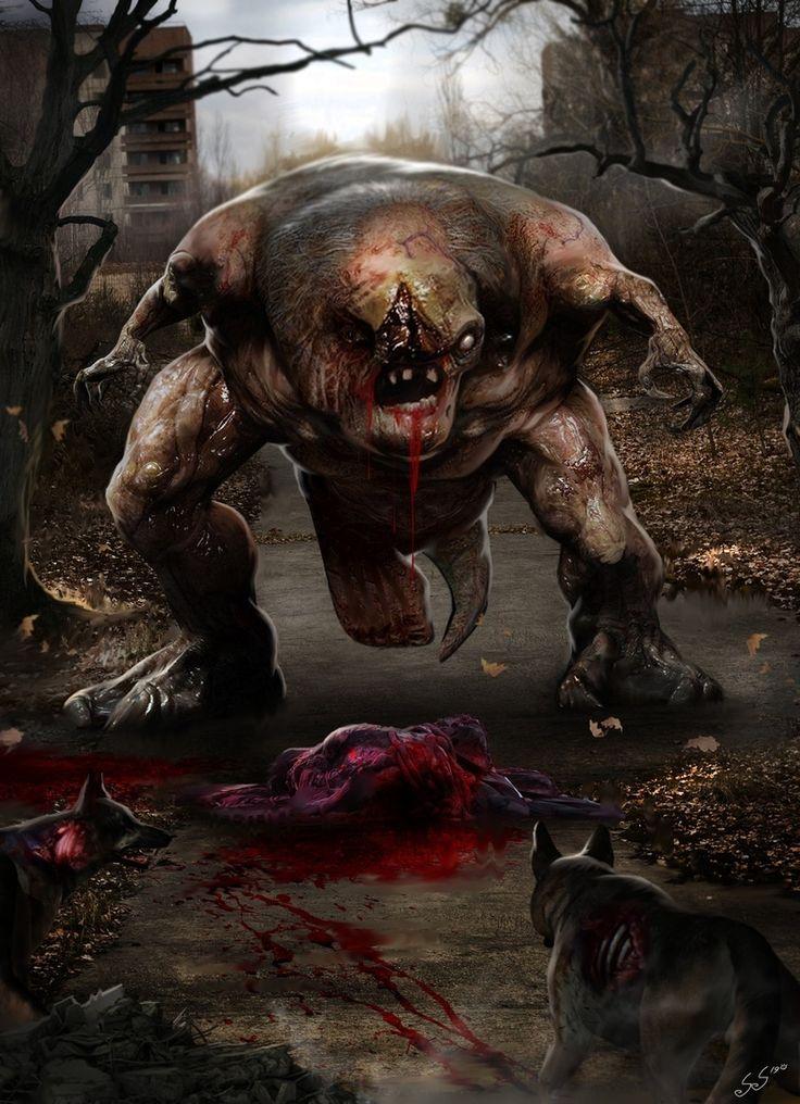 Атака всех монстров в картинках