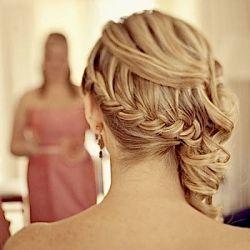 The braid as a bridal hairstyle