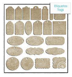 Scrapbooking Manual - Las Etiquetas (Tags)