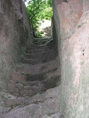 35 Steps leading down to Maqluba only take you so far then you need a rope to reach the bottom
