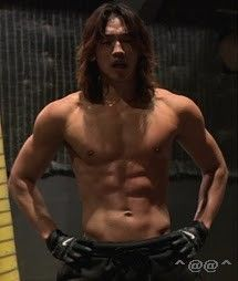 Rain in Ninja Assassin. Seriously, we should be as dedicated in just one area as he is in all of his. Talk about going hard or going home!