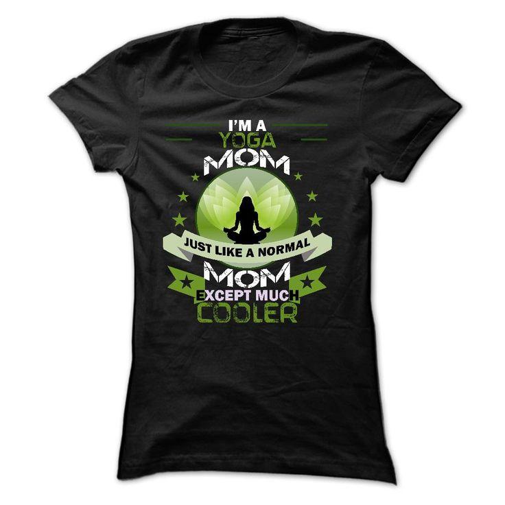Yoga Mom T Shirt
