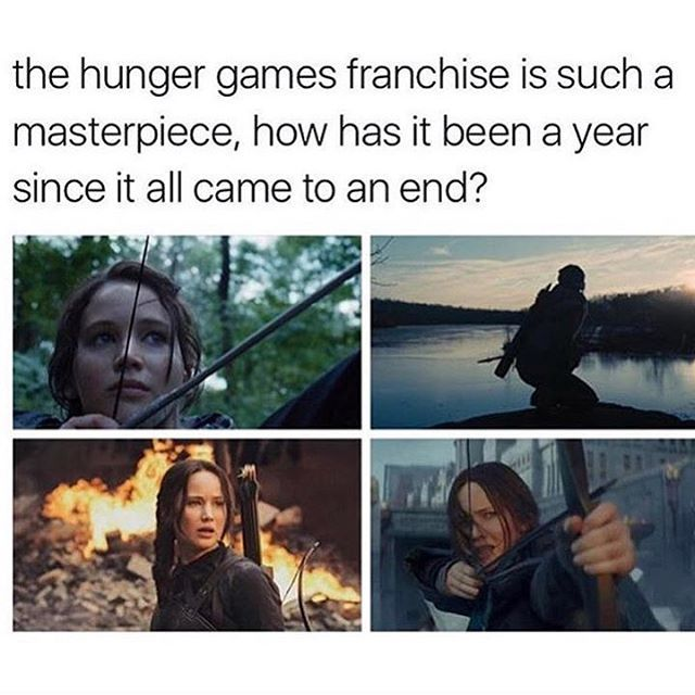 The masterpiece of a series, 2017 is just around the corner, but what do you think will be the next Hunger Games related thing to come?