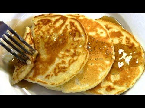 Homemade Pancakes - YouTube