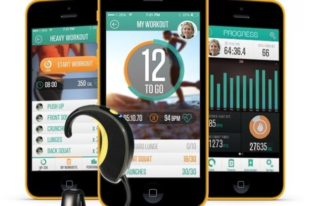 Luma fit fitness tracker + app