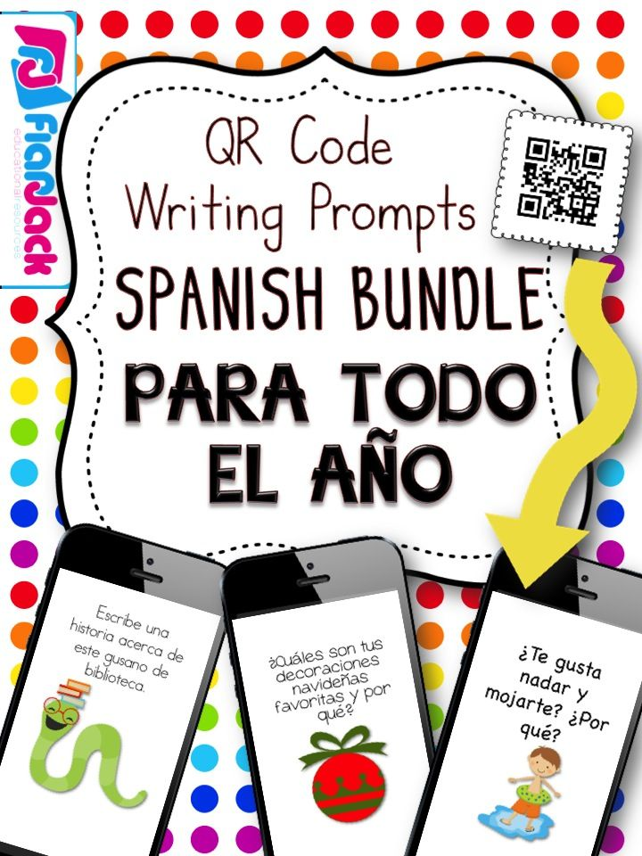 writing prompts in spanish Spanish prompts for writing test: in the past, spanish language prompts were available online for secure district download this year, rather than posting the prompts.