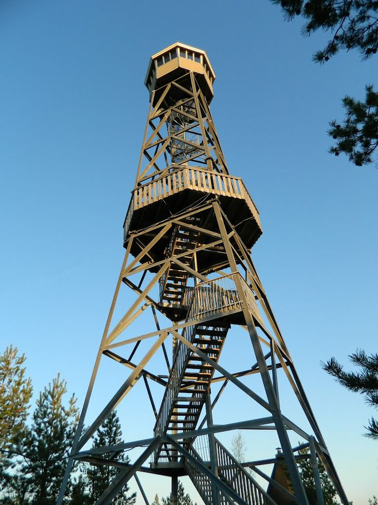 An observation tower in Kurikka.