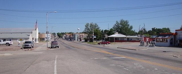 Bayard, NebraskaNebraska Town, Big Red