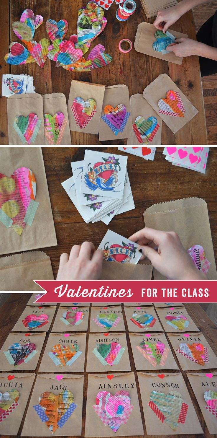 Valentines For The Class