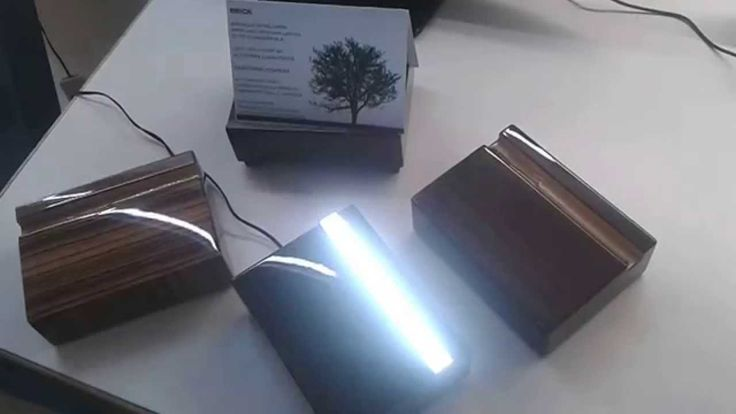 BRICK led lamp by Luxelt Italy