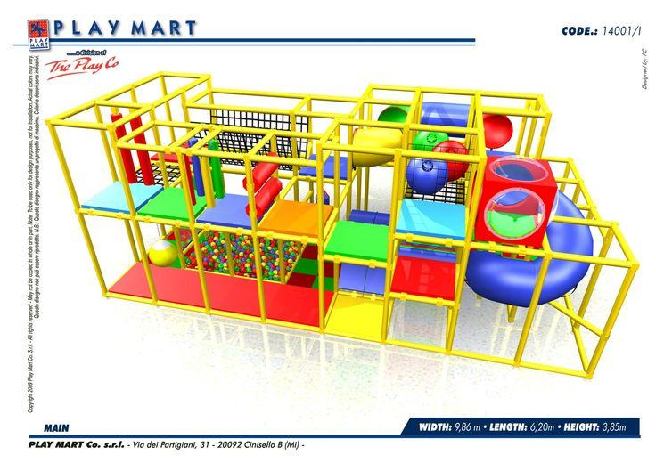 Play Mart - (codice D) splendida struttura di gioco; capacità di oltre 70 bambini; possibilità di ampliamento; ottimo opportunità - anche a NOLEGGIO