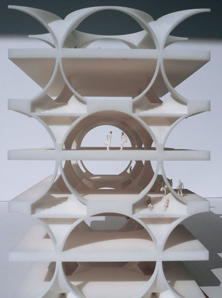 MANUELLE GAUTRAND ARCHITECTURE, SHOWROOM & LEISURE CENTER: future, come faster.