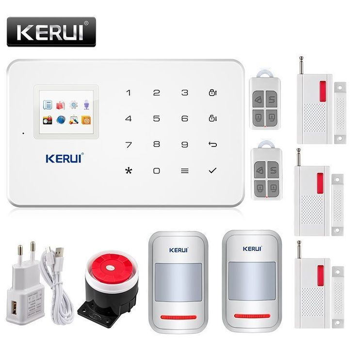 KERUI Wireless Intelligent GSM Alarm System Security Home Auto-Dial Call House Office Security Alarm for house office