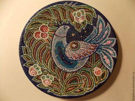 (27) Декоративная посуда ручной работы. Ярмарка Мастеров - ручная работа. Купить Синяя птица удачи. Handmade. Разноцветный, птица счастья