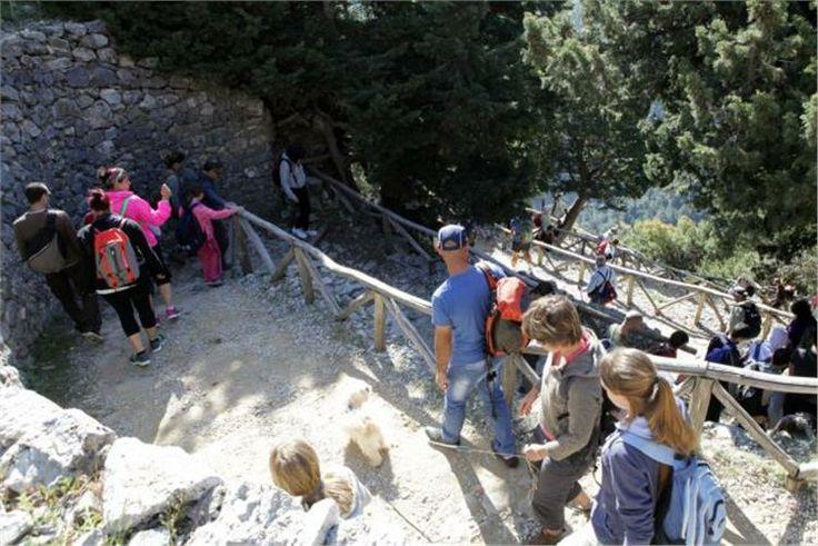 Το Φαράγγι της Σαμαριάς σπάει τα ρεκόρ #Samaria #Gorge