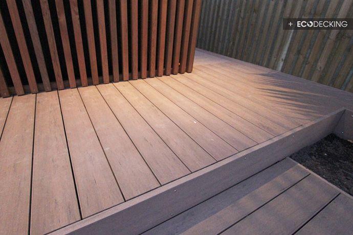 eco-decking, cladding detail,qwickbuild, deck structure, installation, materials, outdure, gallery, decking ideas, deck designs, photos, ima...