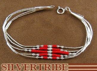 Bijoux en argent sterling et corail tendus à la main   – Jewellery Love