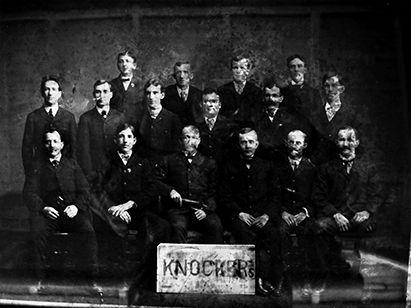 Old photo of Nanticoke Knockers