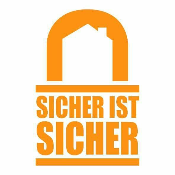 Logodesign for a german security company #design #art #graphic #adobecreativesuite #media #mediadesign #creative #marketing #logo #security #safe #sicheristsicher #sicherheit