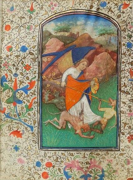 Book of Hours Belgium, Bruges, ca. 1440 MS W.3 fol. 163v http://ica.themorgan.org/manuscript/page/11/181733