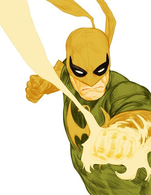 MARVEL's IronFist! In some versions, IronFist teams up with Powerman as Heroes for hire.