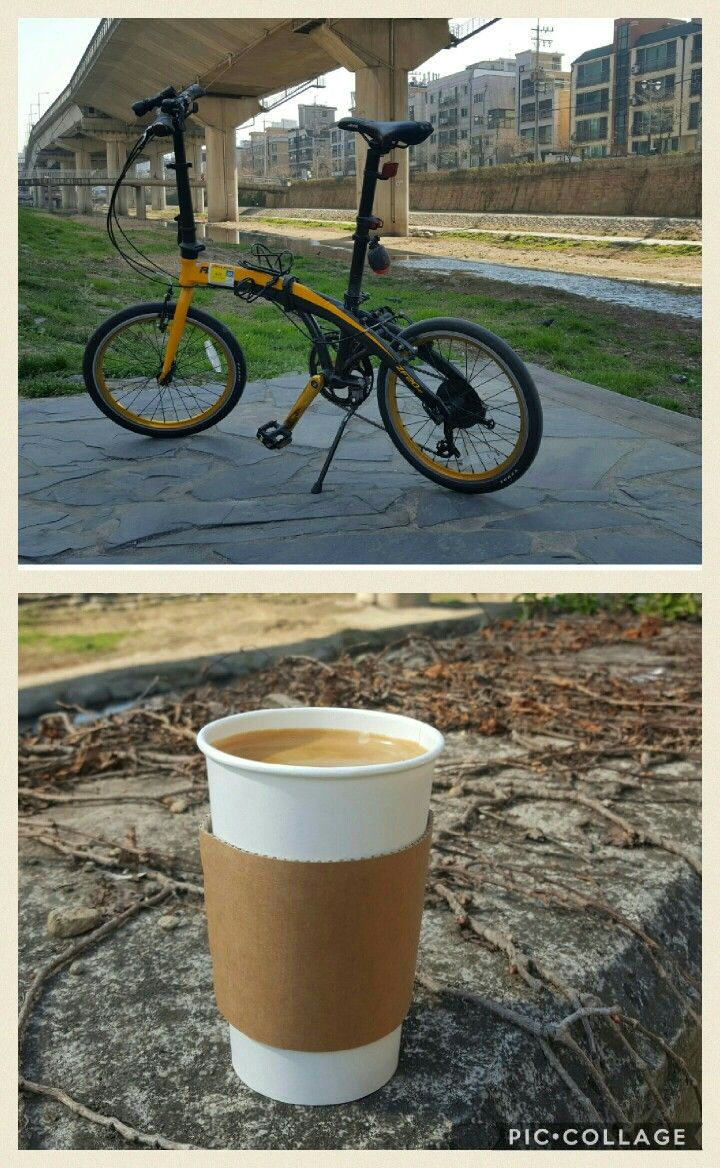 당직근무 후 일찍 퇴근. 점심 식사 후 잠을 청하려 했더니 계속 전화가 온다.  잠자기 포기하고 자전거를 이끌고 정릉천 자전거도로로 항한다.  날씨가 너무 좋다.  따스한 햇빛 일렁이는 바람  모든게 완벽하다.  평일이라 사람들도 없고, 나만을 위한 자전거도로이다.  마무리는 내가 좋아하는 정릉천길 카페 그루비에서 따뜻한 아메리카노로 한다.  #라이딩 #정릉천 #정릉천길 #그루비 #카페그루비 #아메리카노