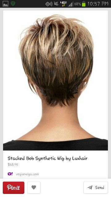 Love the back just a little shorter at the bottom