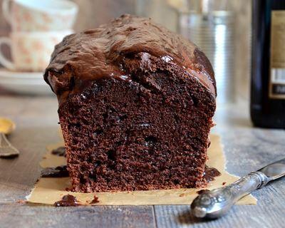 Cake au chocolat et poudre d'amandes