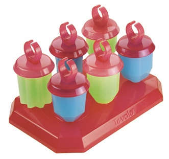 Put A Ring On It    Remember Ring Pops? Indulge your inner child and make your own homemade Ring Pop-style popsicles. They'll keep you cool after a long day at the beach.    Tovolo Set Of 6 Jewel Pop Molds, Kitchen Kapers, $10