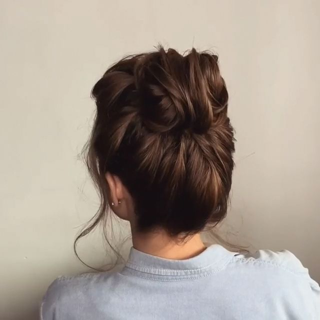 Will you wanna learn how to achieve today's latest hairstyles and hottest trends? View the link below to get more Easy Hairstyles Tutorials Trends 2020! #hairstyles #DIY #tutorials #weddings #updos… More #Updostutorials