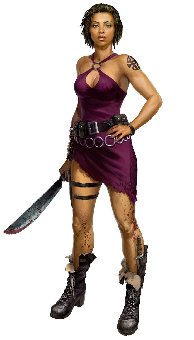 Purna from Dead Island