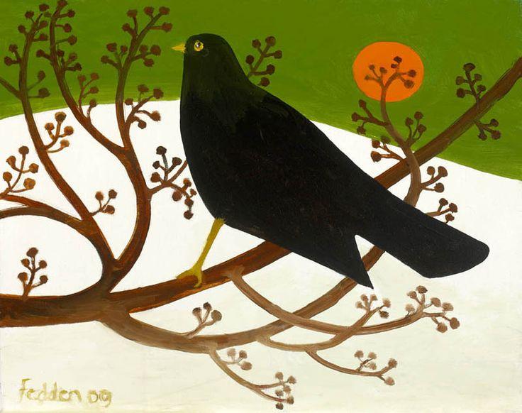 Mary Fedden   Blackbird