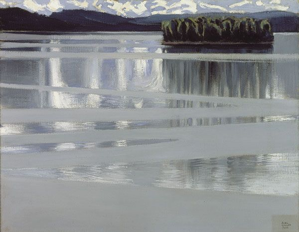 Lake Keitele, 1905  Akseli Gallen-Kallela  Finnish, 1865-1931  Oil on canvas, 53 x 67 cm  Lahti Art Museum
