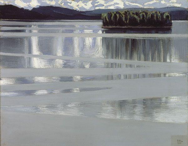 Lake Keitele, 1905 Akseli Gallen-Kallela Finnish, 1865-1931 Oil on canvas, 53 x 67 cm Lahti Art Museum