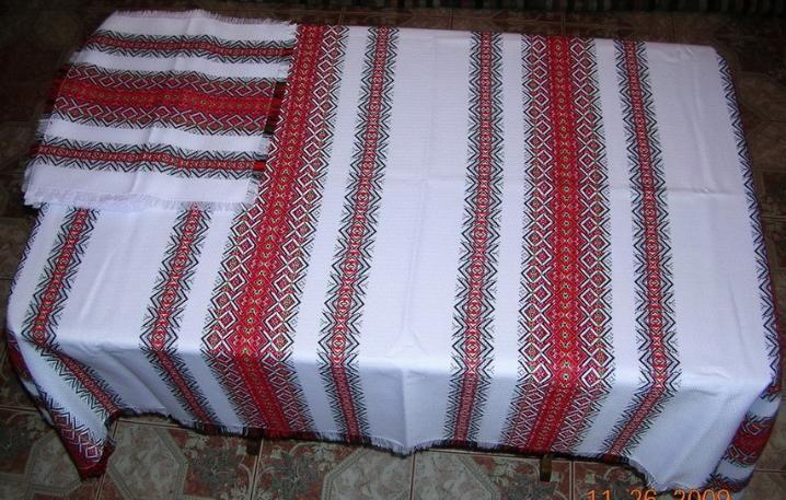 Ukrainian Traditional Tablecloth