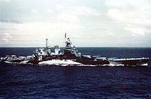 North Carolina operating near the Gilbert Islands, November 1943