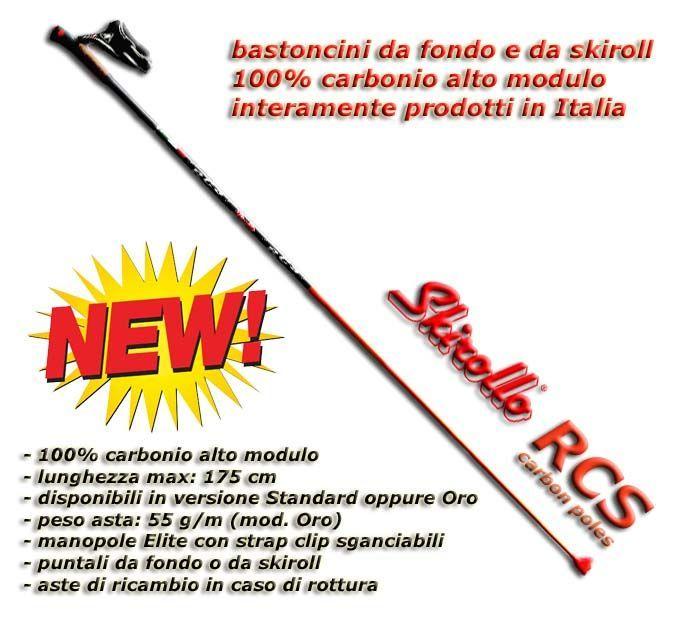 Bastoncini Skirollo-RCS Clip