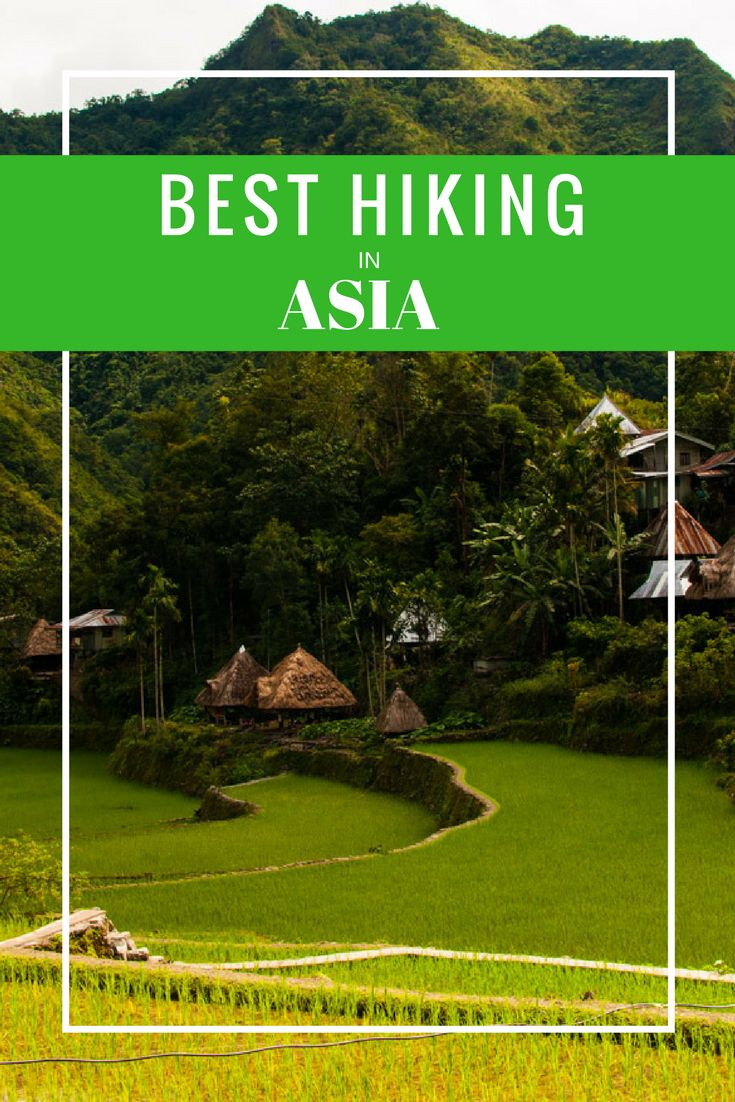 Asia is an exciting and diverse continent full of exotic destinations, great food and friendly people. It's also a place of abundantly beautiful nature making it great for hiking. We asked our fellow travelers and bloggers for their choice of the Best Hiking in Asia and are sharing their answers here. via @livedreamdiscov